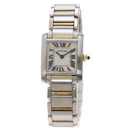 Cartier W51007Q4 Tank Francaise SM Watch Ladies
