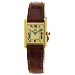 Cartier 1613 Mast Tank Vermeil Watch Ladies