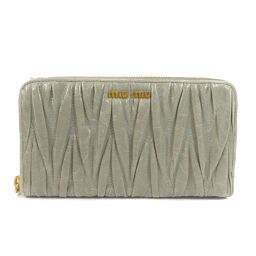 Miu Miu Logo bracket Long wallet (with coin purse) Ladies