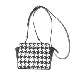 Michael Kors houndstooth shoulder bag ladies
