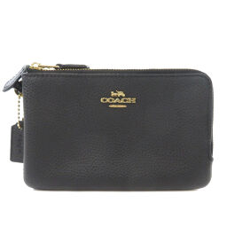Coach logo motif accessory pouch ladies