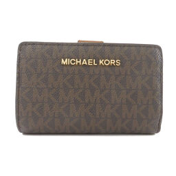 Michael Kors Logo Motif Two-folded wallet (with coin purse) Ladies