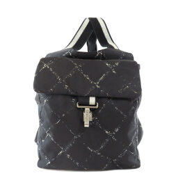Chanel Travelline Backpack Daypack Ladies