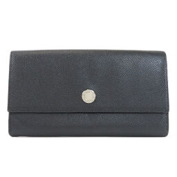 Bulgari Logo bracket Long wallet (with coin purse) Ladies