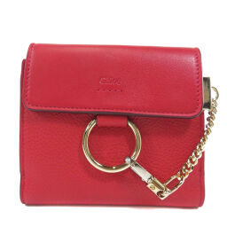 Chloe logo motif Two-fold wallet (with coin purse) Ladies