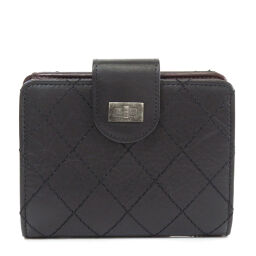 Chanel Wild Stitch Two-folded wallet (with coin purse) Ladies