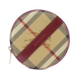 Burberry Nova Check Coin Case Ladies
