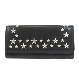 Jimmy Choo Star Studs Long Wallet (with coin purse) Unisex