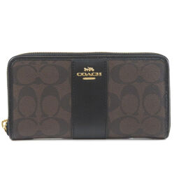 Coach F54630 Signature Purse (with coin purse) Ladies