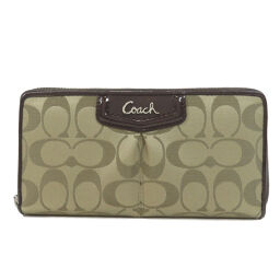 Coach Signature Purse (with coin purse) Ladies