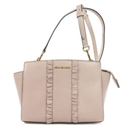 Michael Kors Ruffle Design Shoulder Bag Ladies