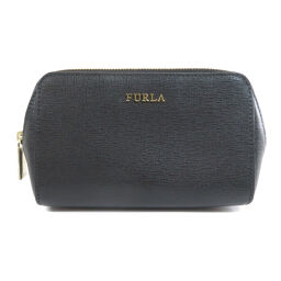 Furla logo motif makeup pouch ladies