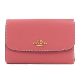 Coach F30204 Logo Motif Bi-Fold Wallet (with coin purse) Ladies