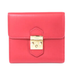 Furla Logo bracket Two-fold wallet (with coin purse) Ladies