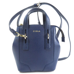Furla logo motif 2WAY handbag ladies