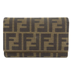 Fendi Zucca Long wallet (with coin purse) Ladies