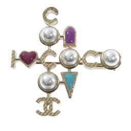 Chanel Coco Mark Brooch Women