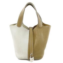 Hermes Picotan Lock PM Taurillon Handbags Ladies