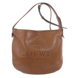 Loewe logo embossed shoulder bag ladies