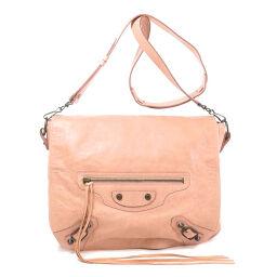 Balenciaga 246432 Metal fittings motif Shoulder bag Ladies