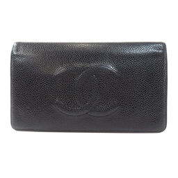Chanel Coco Mark Long Wallet (with coin purse) Ladies