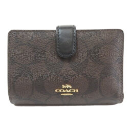 COACH F23553 Signature Two-folded wallet (with coin purse) Ladies