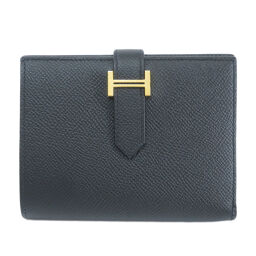 Hermes Bear Compact Two-folded wallet (with coin purse) Ladies