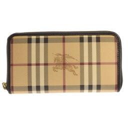 Burberry Nova Check Long Purse (with coin purse) Ladies