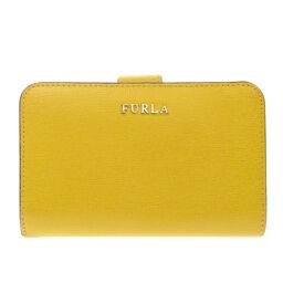 フルラ ロゴ 二つ折り財布(小銭入れあり)レディース