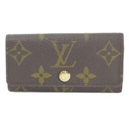 Louis Vuitton M62631 Multicure 4 Monogram Key Case Unisex