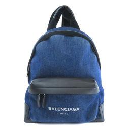 Balenciaga Logo Backpack Daypack Ladies