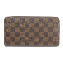 Louis Vuitton N41661 Zippy Wallet Damier Ebene Wallet (with coin purse) Ladies