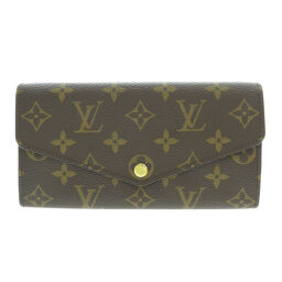 Louis Vuitton M60531 Portofeuil Sara Monogram long wallet (with coin purse) Ladies
