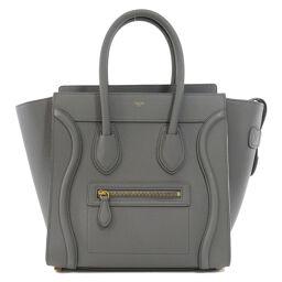 Celine Luggage Micro Handbag Ladies
