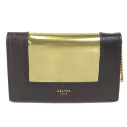 Celine logo motif Bi-fold wallet (with coin purse) Ladies