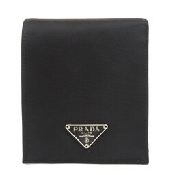 Prada logo plate Two-fold wallet (with coin purse) Women