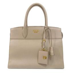 Prada logo bracket handbag ladies