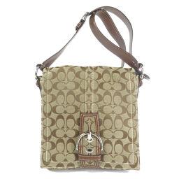 COACH 10082 Signature Shoulder Bag Ladies