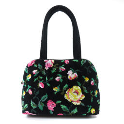 Failer Flower Motif Handbag Ladies