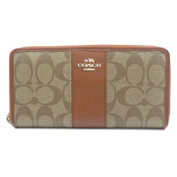 Coach F52859 Signature Purse (with coin purse) Ladies