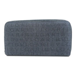 Bvlgari Logo Mania Long Wallet (with coin purse) Unisex
