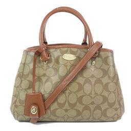 COACH F34605 Signature 2WAY Handbags Ladies