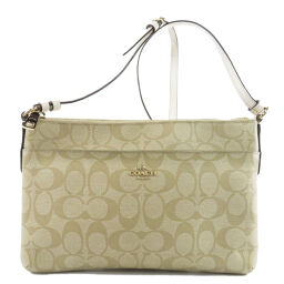 COACH F58316 Signature Shoulder Bag Ladies