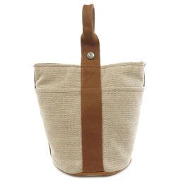 Hermes Saxo PM Toile Ash Handbags Ladies