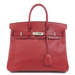 Hermes Birkin 25 Silver Hardware Handbags Ladies