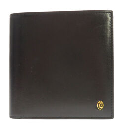 Cartier Mast line double-fold wallet (with coin purse) ladies