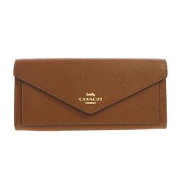 Coach 3033 Logo Motif Long Wallet (with coin purse) Ladies
