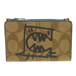 Coach 1257 Card Case with Coin Case Card Case Ladies