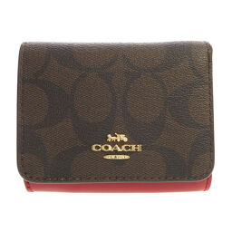 Coach 7331 Signature Bi-Fold Wallet (with coin purse) Ladies