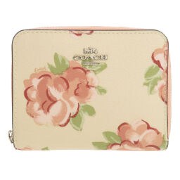 Coach F67511 Flower Bi-Fold Wallet (with coin purse) Ladies